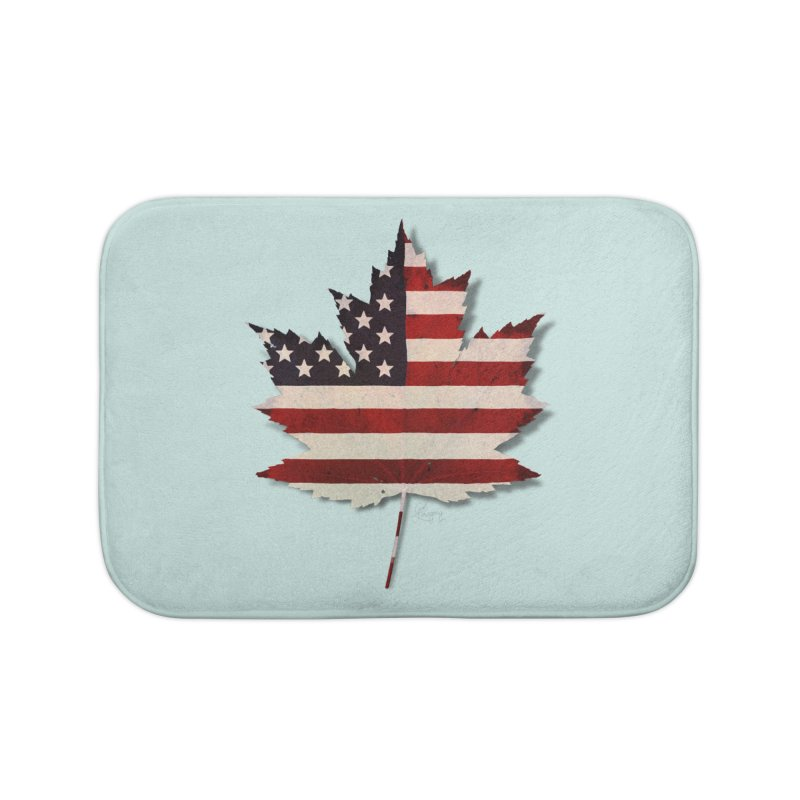 USA Maple Home Bath Mat by Hadeda Creative's Artist Shop