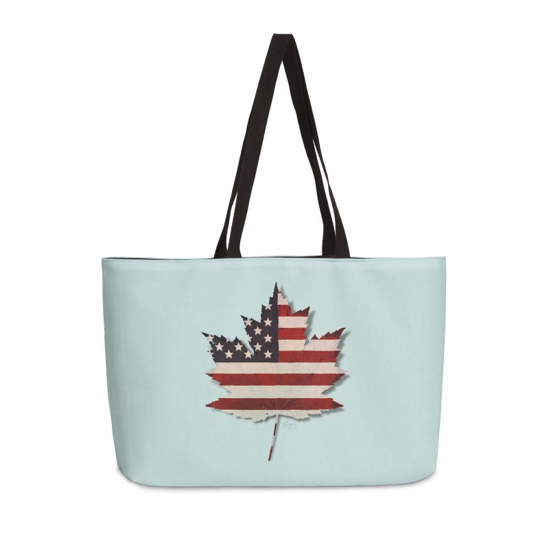 USA Maple Accessories Weekender Bag Bag by Hadeda Creative's Artist Shop