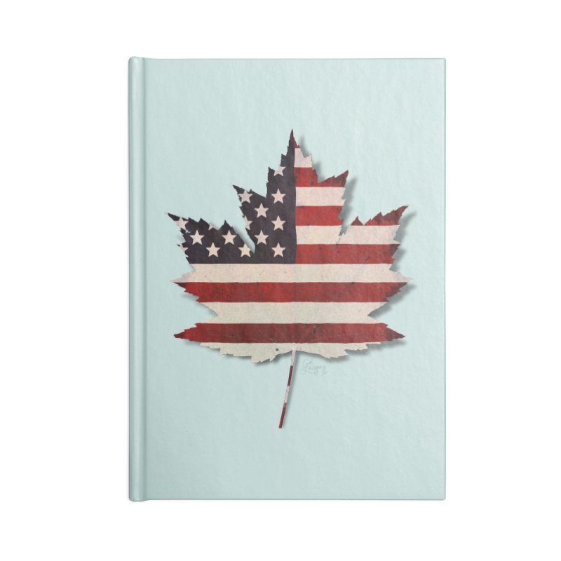 USA Maple Accessories Lined Journal Notebook by Hadeda Creative's Artist Shop