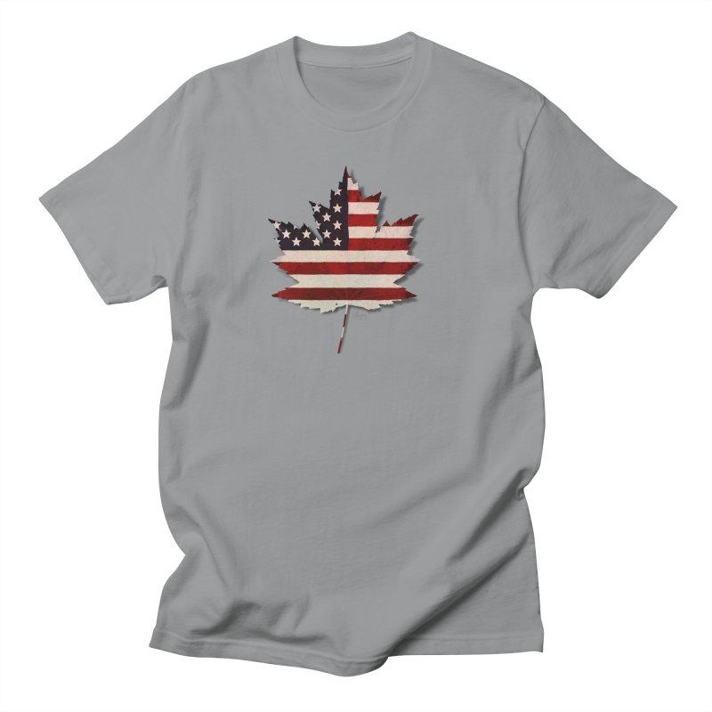 USA Maple Men's T-Shirt by Hadeda Creative's Artist Shop