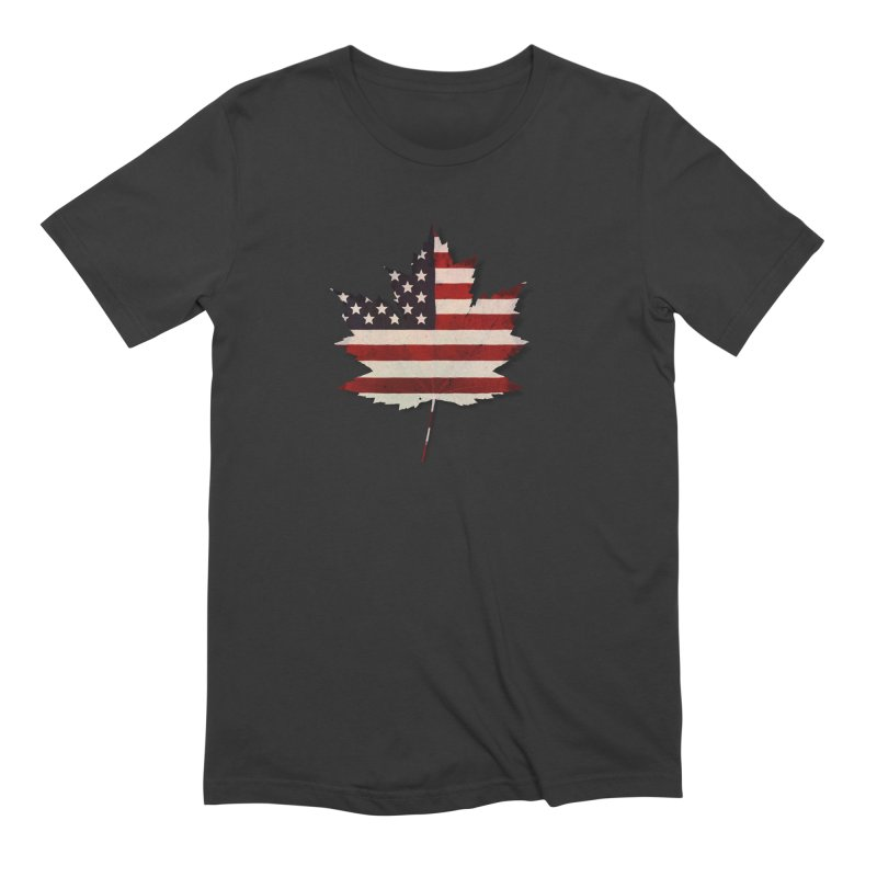 USA Maple Men's Extra Soft T-Shirt by Hadeda Creative's Artist Shop