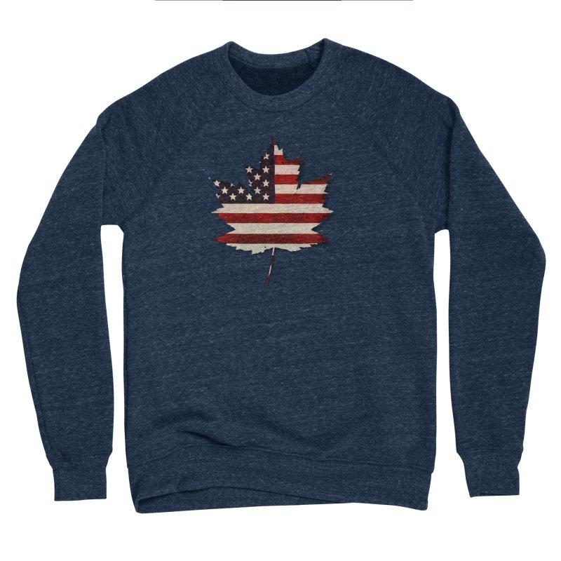 USA Maple Women's Sponge Fleece Sweatshirt by Hadeda Creative's Artist Shop