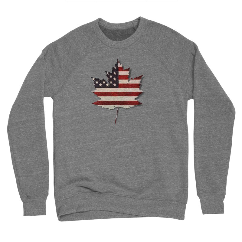 USA Maple Women's Sponge Fleece Sweatshirt by Hadeda Creative's Artist Shop