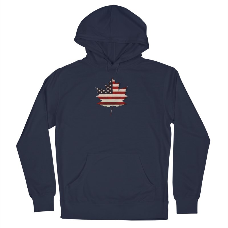 USA Maple Men's Pullover Hoody by Hadeda Creative's Artist Shop
