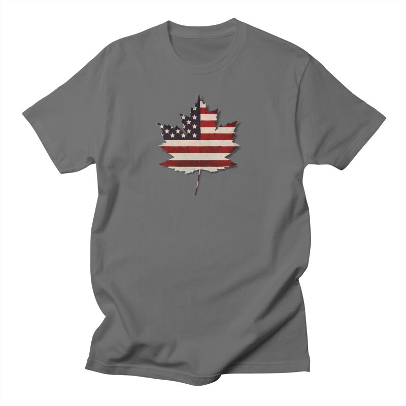 USA Maple Men's T-Shirt by Hadeda Creative's Artist Shop