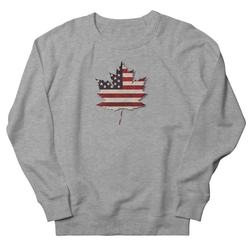USA Maple Women's French Terry Sweatshirt by Hadeda Creative's Artist Shop