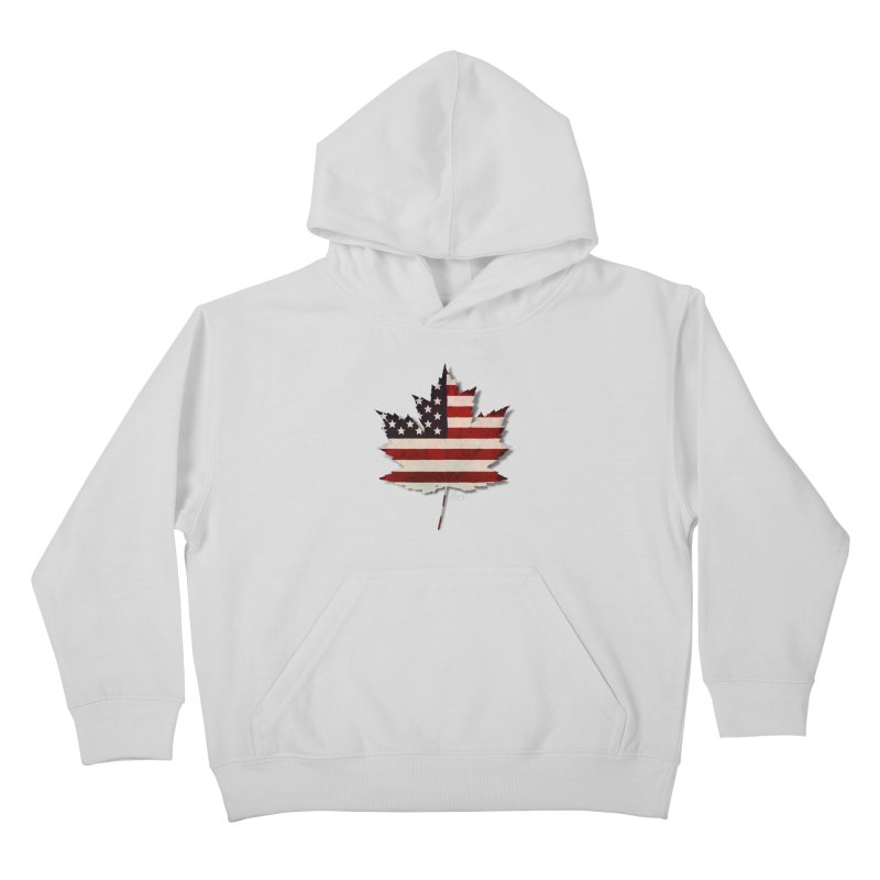 USA Maple Kids Pullover Hoody by Hadeda Creative's Artist Shop