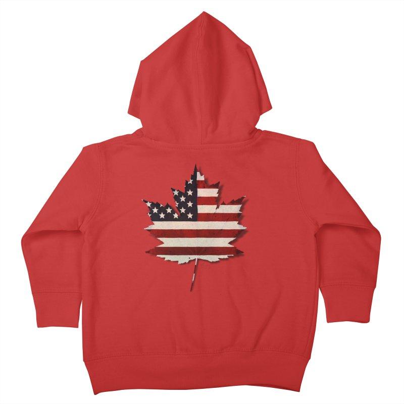 USA Maple Kids Toddler Zip-Up Hoody by Hadeda Creative's Artist Shop