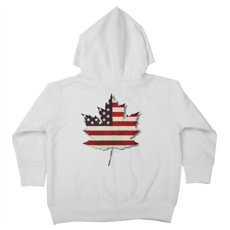 USA Maple Kids Toddler Zip-Up Hoody by Hadeda Creative's Artist Shop