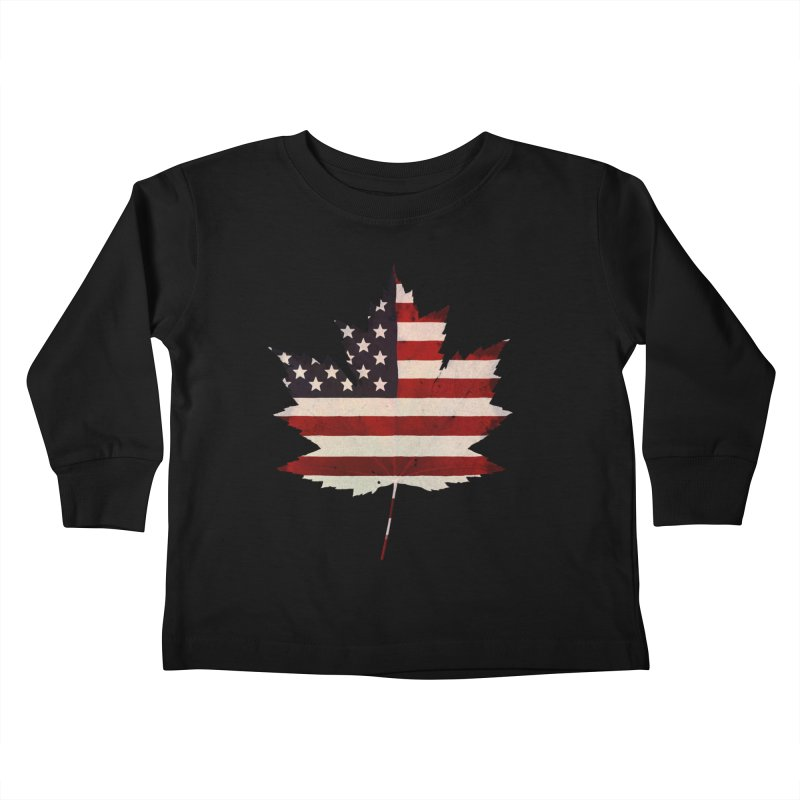USA Maple Kids Toddler Longsleeve T-Shirt by Hadeda Creative's Artist Shop