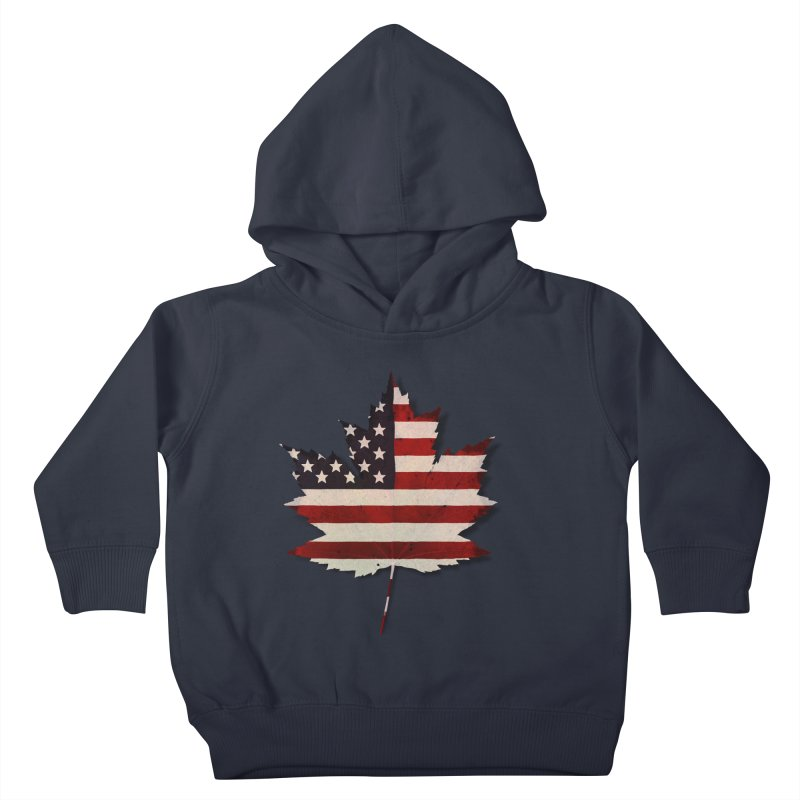 USA Maple Kids Toddler Pullover Hoody by Hadeda Creative's Artist Shop