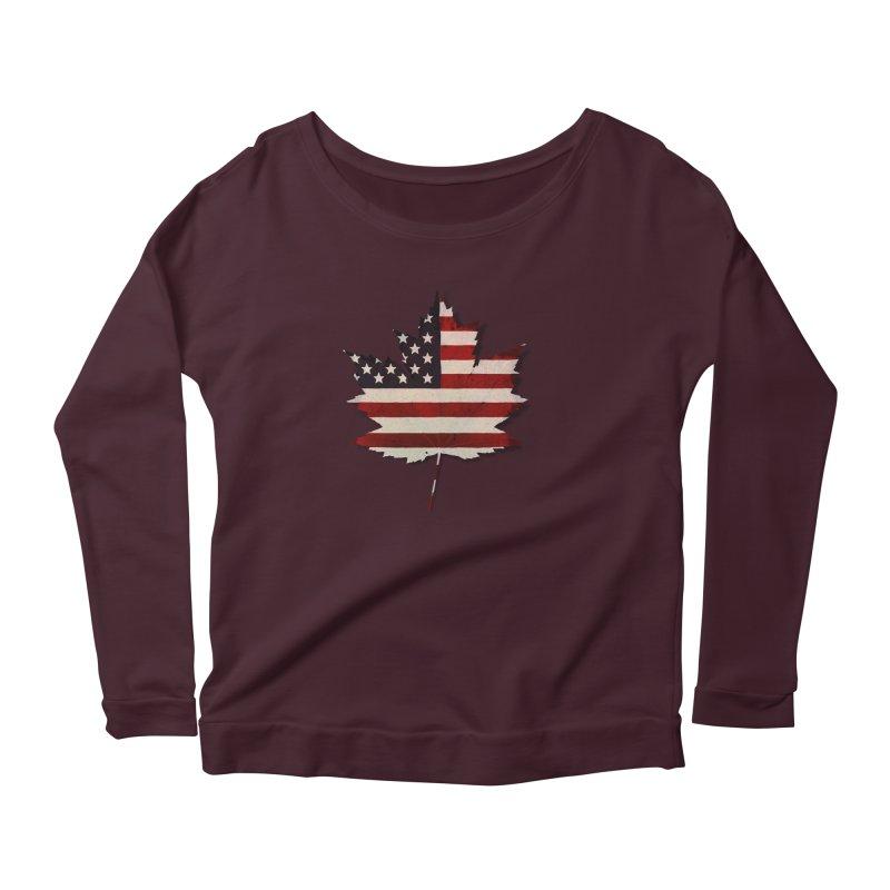 USA Maple Women's Longsleeve T-Shirt by Hadeda Creative's Artist Shop