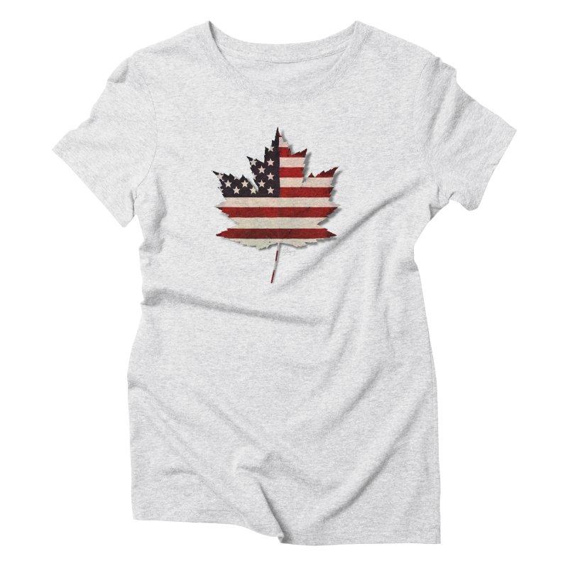 USA Maple Women's T-Shirt by Hadeda Creative's Artist Shop