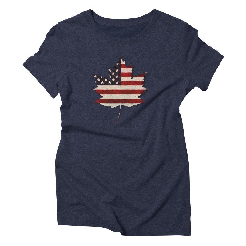 USA Maple Women's Triblend T-Shirt by Hadeda Creative's Artist Shop