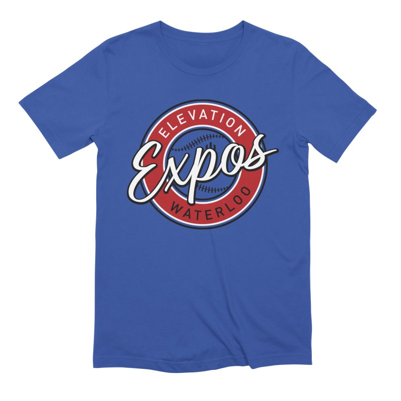 Elevation Expos Men's T-Shirt by Hadeda Creative's Artist Shop