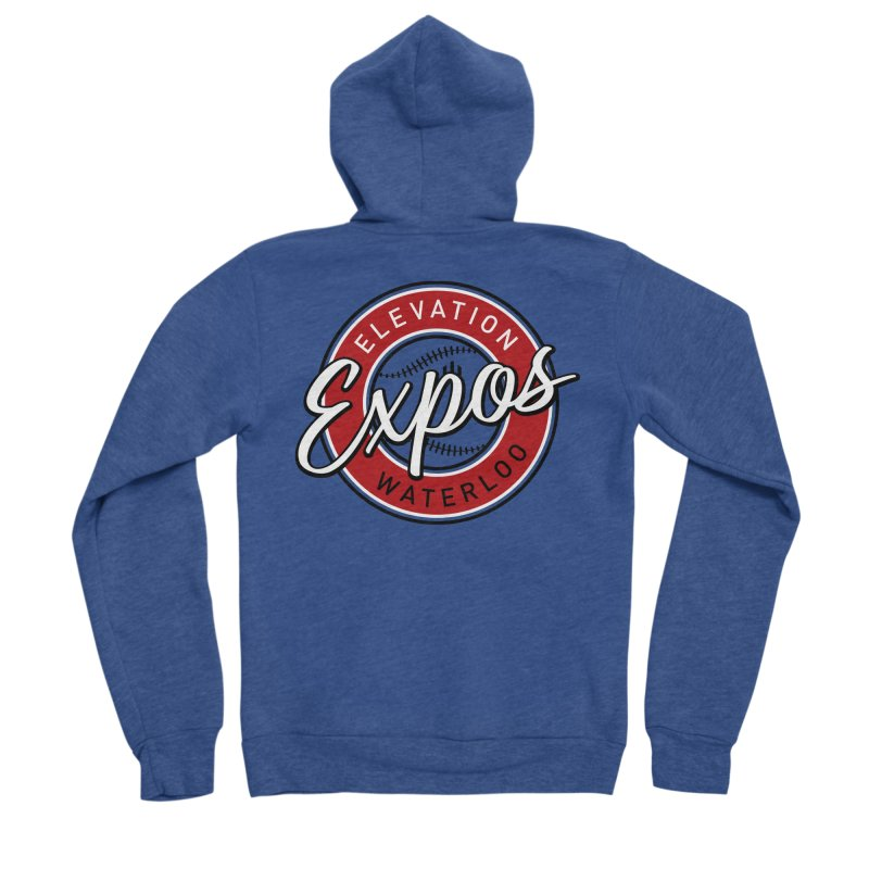 Elevation Expos Men's Sponge Fleece Zip-Up Hoody by Hadeda Creative's Artist Shop
