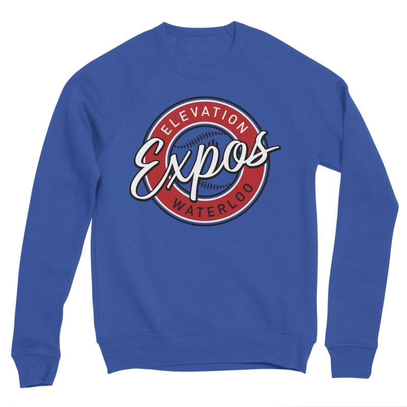 Elevation Expos Men's Sponge Fleece Sweatshirt by Hadeda Creative's Artist Shop