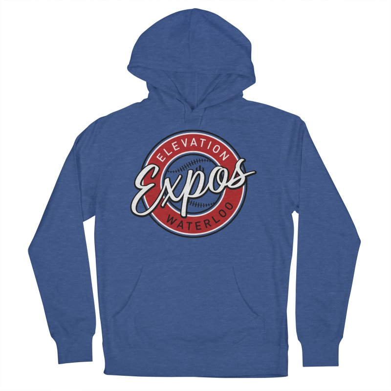 Elevation Expos Women's French Terry Pullover Hoody by Hadeda Creative's Artist Shop