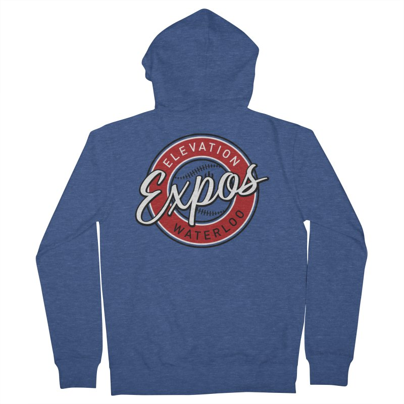 Elevation Expos Women's French Terry Zip-Up Hoody by Hadeda Creative's Artist Shop