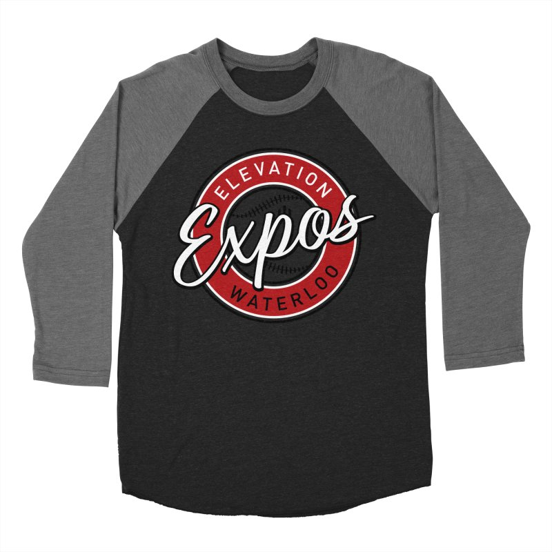 Elevation Expos Men's Baseball Triblend Longsleeve T-Shirt by Hadeda Creative's Artist Shop