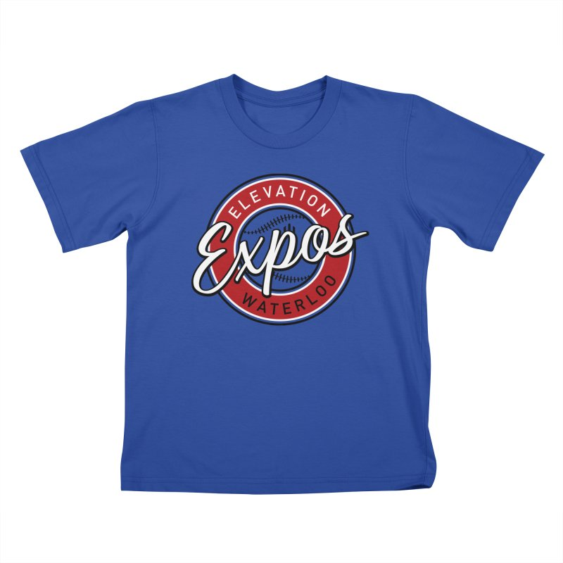 Elevation Expos Kids T-Shirt by Hadeda Creative's Artist Shop