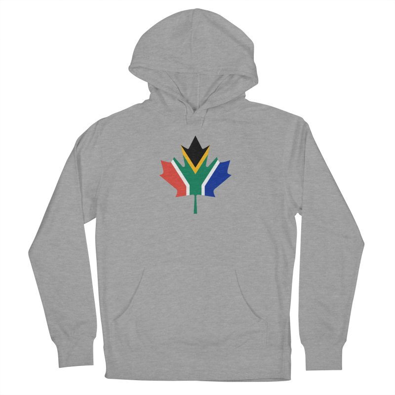SA Maple Men's French Terry Pullover Hoody by Hadeda Creative's Artist Shop