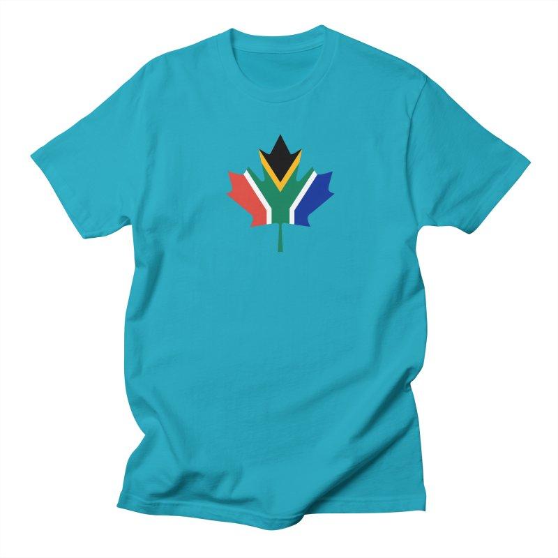 SA Maple Men's Regular T-Shirt by Hadeda Creative's Artist Shop