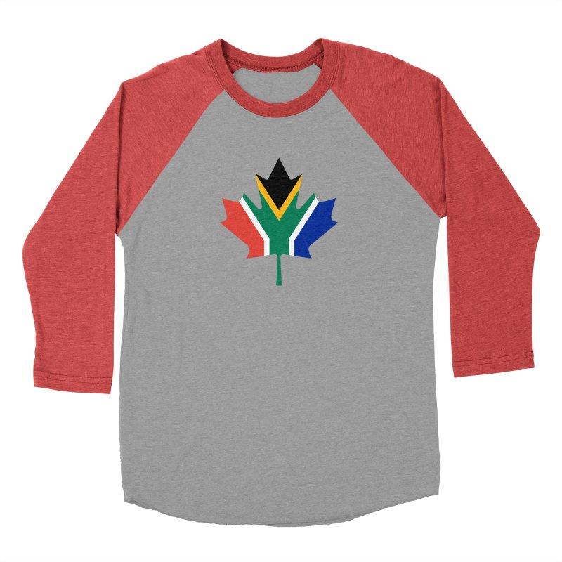 SA Maple Women's Baseball Triblend T-Shirt by Hadeda Creative's Artist Shop
