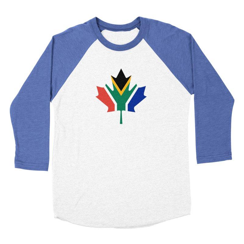SA Maple Men's Baseball Triblend T-Shirt by Hadeda Creative's Artist Shop