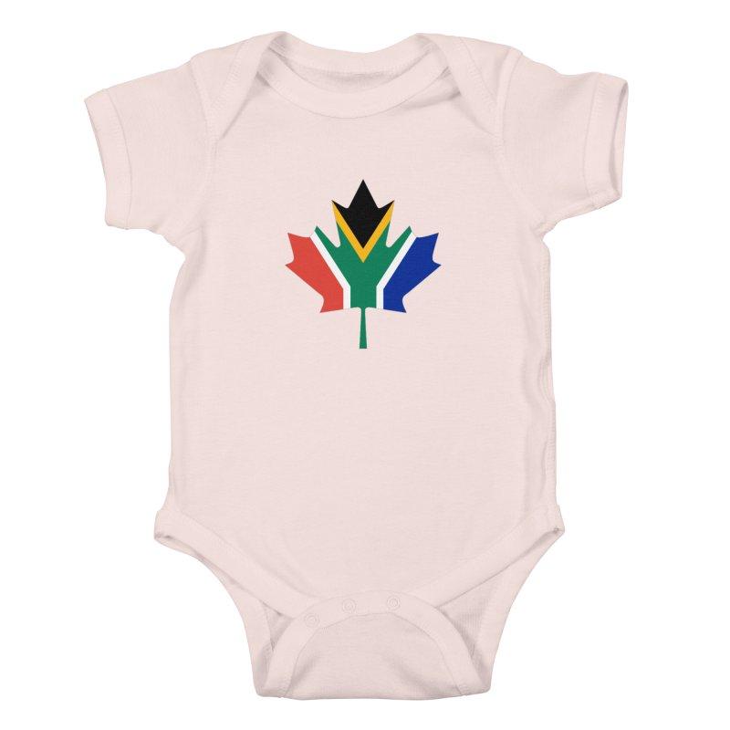 SA Maple Kids Baby Bodysuit by Hadeda Creative's Artist Shop