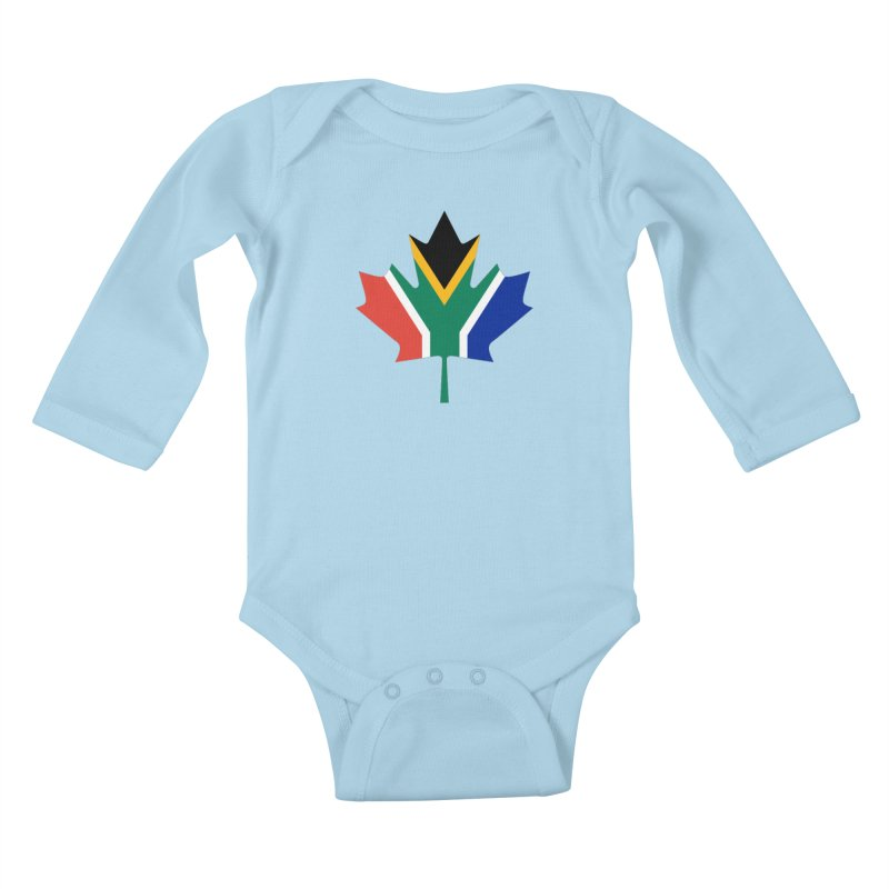 SA Maple Kids Baby Longsleeve Bodysuit by Hadeda Creative's Artist Shop
