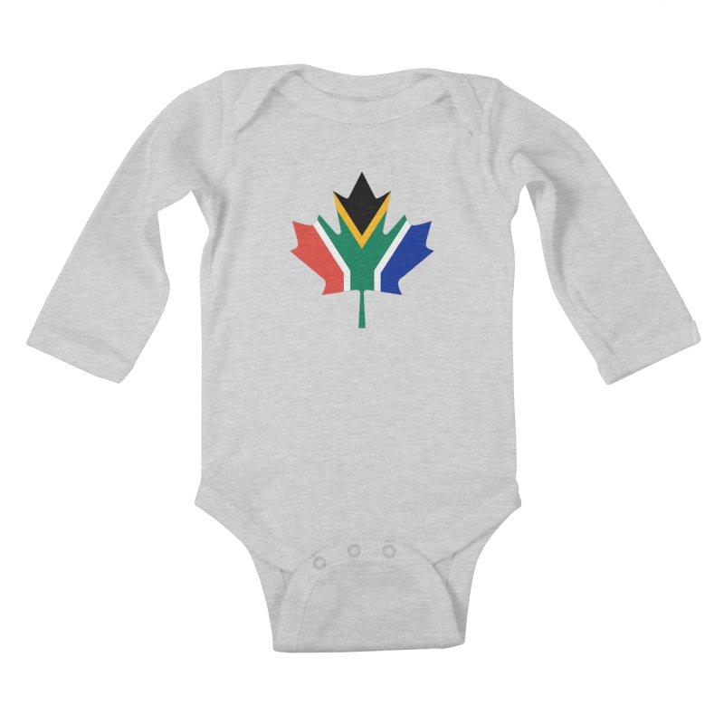 SA Maple Kids Baby Longsleeve Bodysuit by Hadeda Creative's Artist Shop