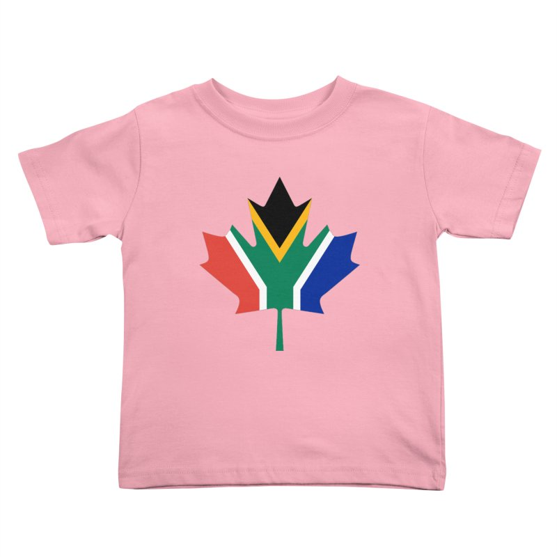 SA Maple Kids Toddler T-Shirt by Hadeda Creative's Artist Shop