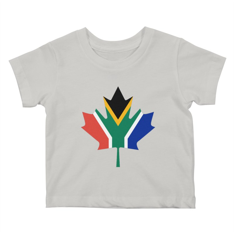 SA Maple Kids Baby T-Shirt by Hadeda Creative's Artist Shop