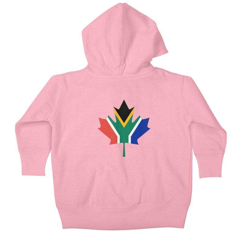 SA Maple Kids Baby Zip-Up Hoody by Hadeda Creative's Artist Shop