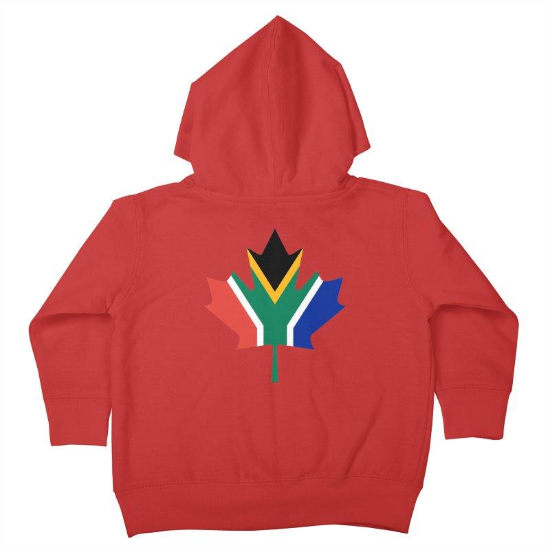 SA Maple Kids Toddler Zip-Up Hoody by Hadeda Creative's Artist Shop
