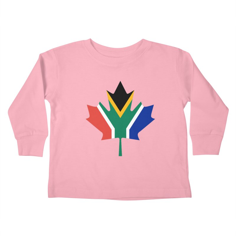 SA Maple Kids Toddler Longsleeve T-Shirt by Hadeda Creative's Artist Shop