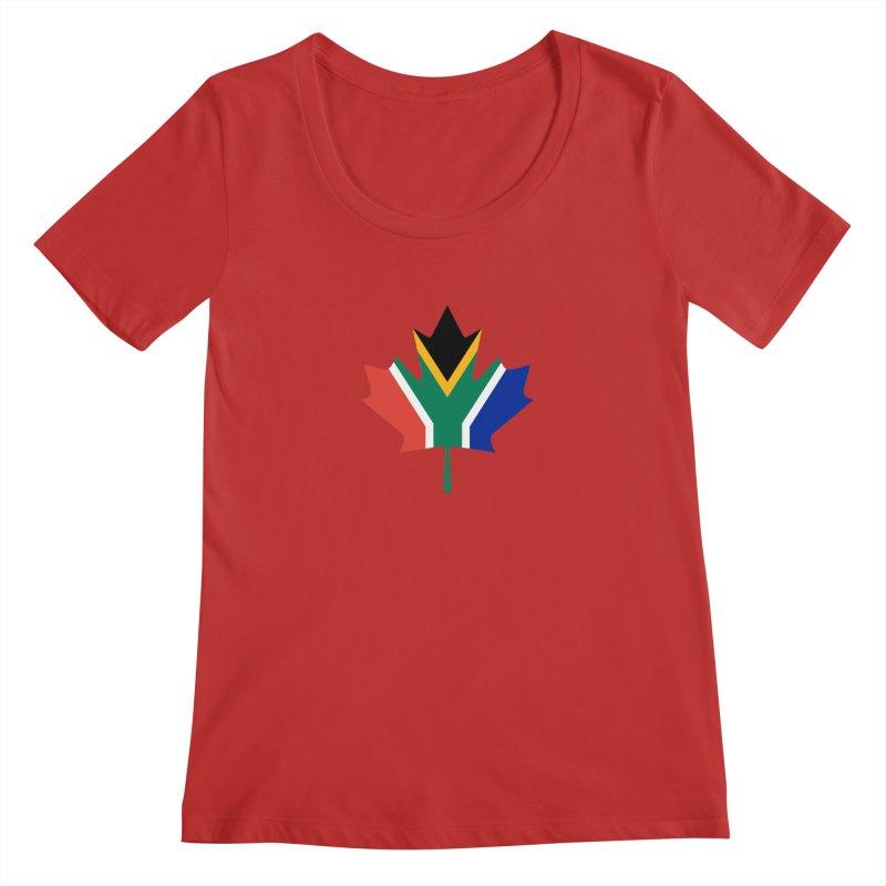 SA Maple Women's Scoopneck by Hadeda Creative's Artist Shop