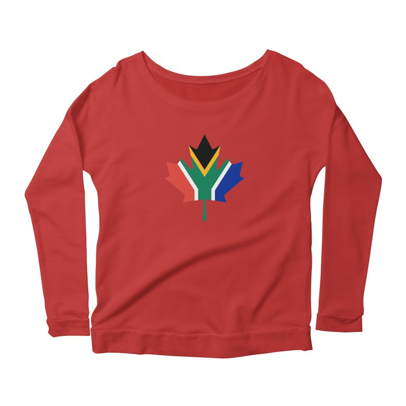 SA Maple Women's Scoop Neck Longsleeve T-Shirt by Hadeda Creative's Artist Shop