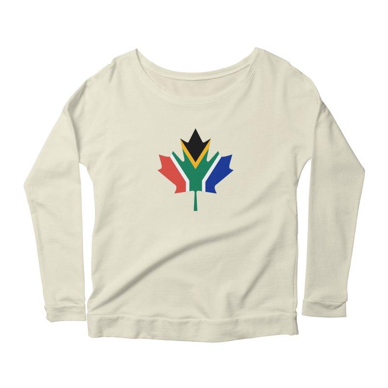 SA Maple Women's Scoop Neck Longsleeve T-Shirt by Hadeda Creative's Artist Shop