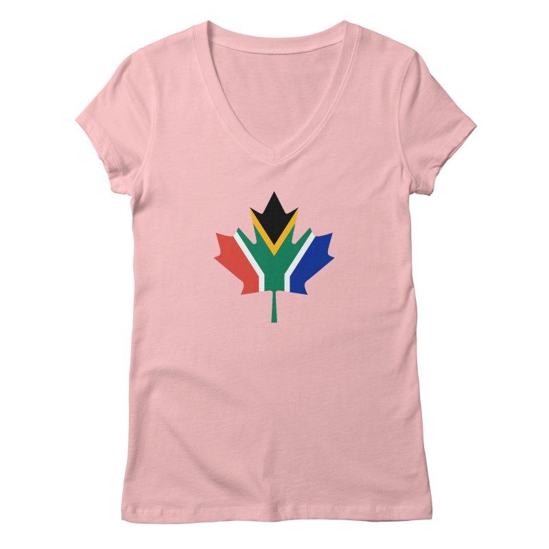 SA Maple Women's Regular V-Neck by Hadeda Creative's Artist Shop