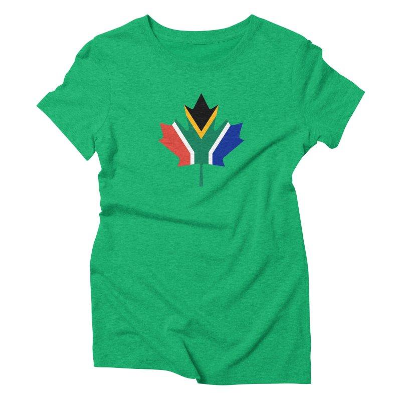 SA Maple Women's Triblend T-Shirt by Hadeda Creative's Artist Shop
