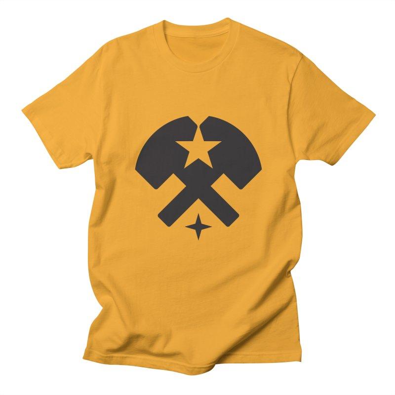 HCRD Stars and Hammers Men's Regular T-Shirt by Hammer City Roller Derby