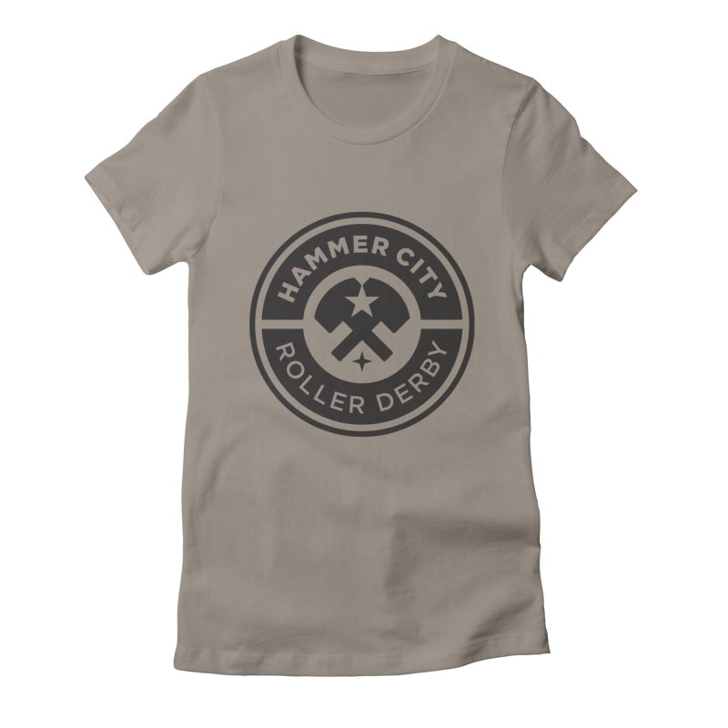 HCRD official logo Women's Lounge Pants by Hammer City Roller Derby
