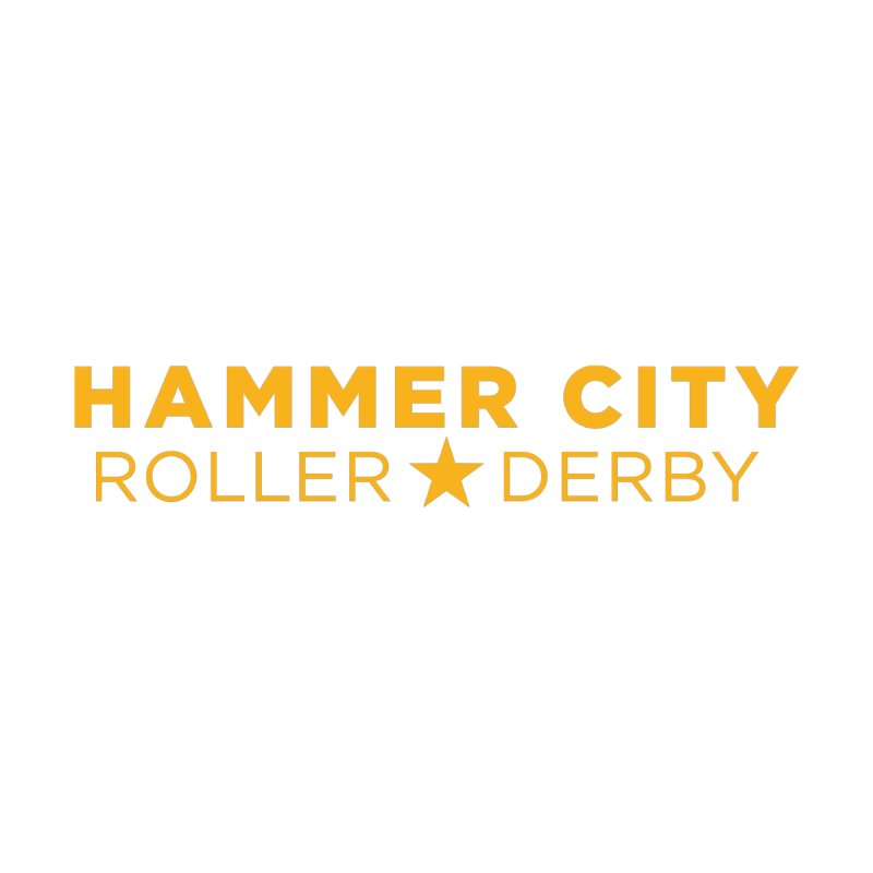 HCRD Banner by Hammer City Roller Derby