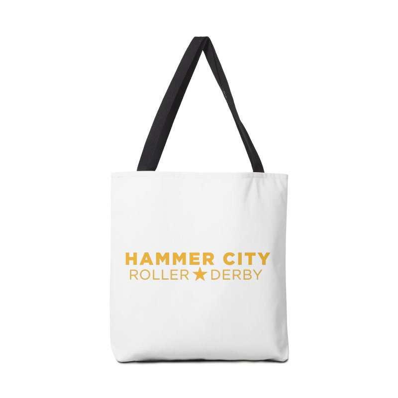 HCRD Banner Accessories Tote Bag Bag by Hammer City Roller Derby