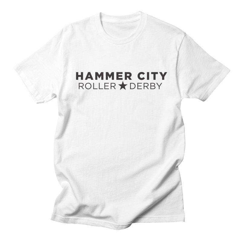 HCRD Banner Men's Regular T-Shirt by Hammer City Roller Derby