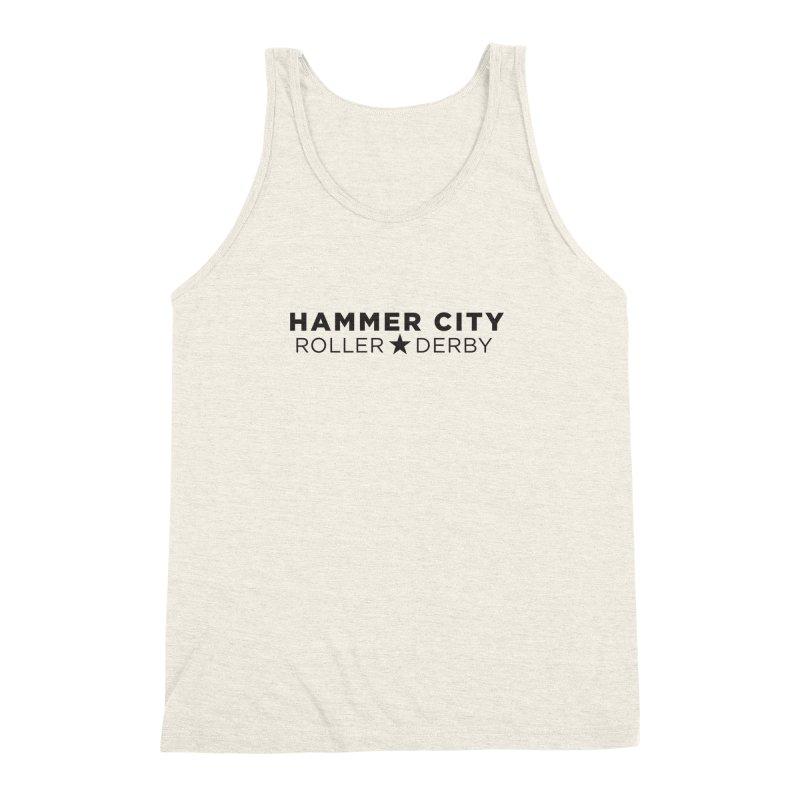 HCRD Banner Men's Triblend Tank by Hammer City Roller Derby