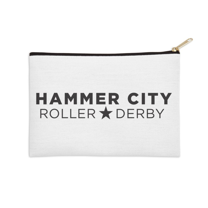 HCRD Banner Accessories Zip Pouch by Hammer City Roller Derby