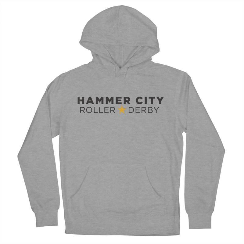 HCRD Banner Women's French Terry Pullover Hoody by Hammer City Roller Derby